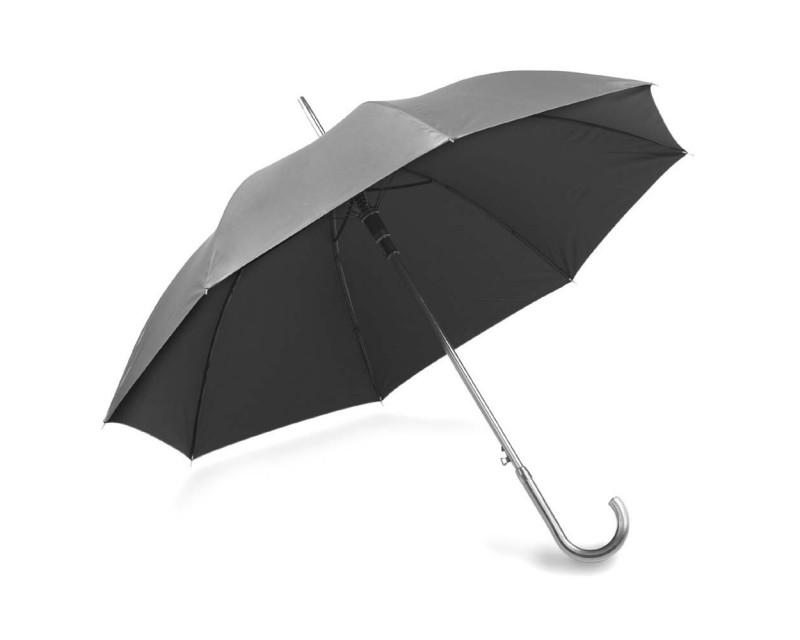 Зонт-трость серый