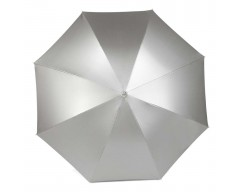 Зонт-трость с автоматическим открытием серый