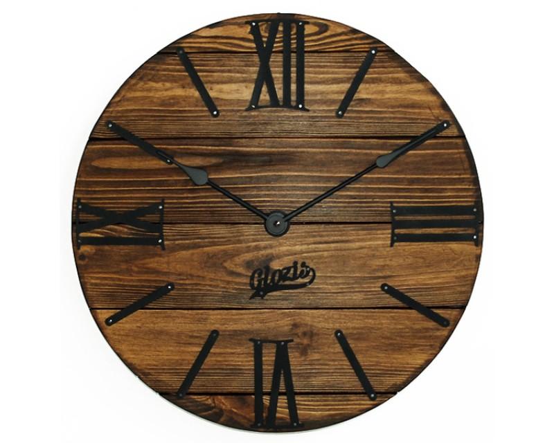 Настенные часы деревянные Nevada Mokko