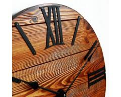 Настенные часы деревянные Nevada Rust