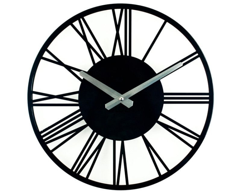 Настенные часы Rome Black