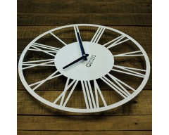 Настенные часы Rome White