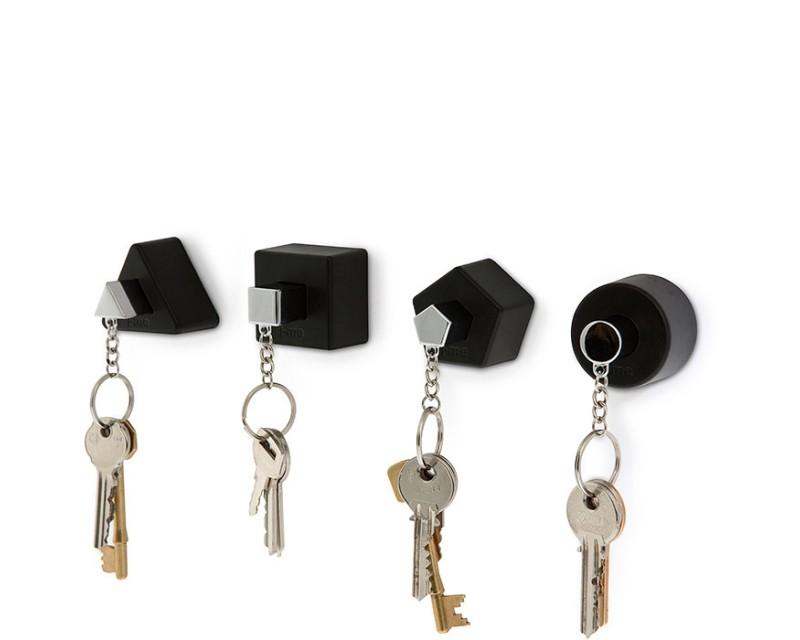 Набор держателей ключей J-me Shape черные