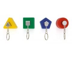 Набор держателей ключей J-me Shape цветные