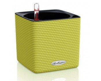 Вазон для цветов Cube Color 14 салатовый
