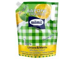 Мыло жидкое лимон и мята, для лица и рук, 1000 мл