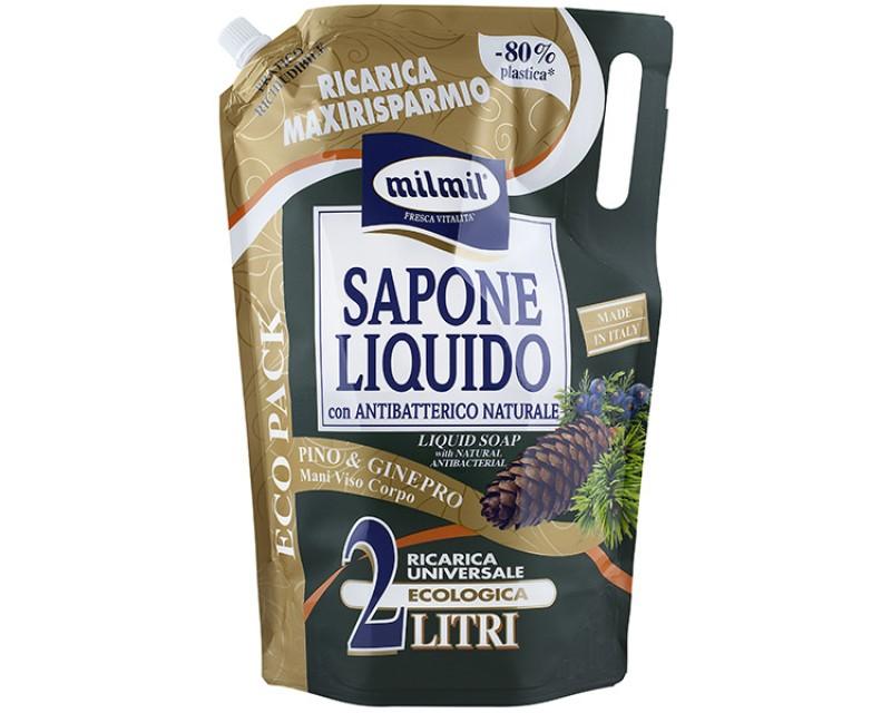 Жидкое мыло с экстрактом можжевельника и ароматом хвои, 2л