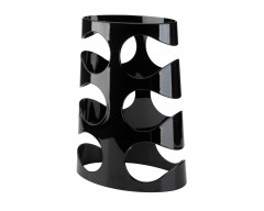 Подставка под бутылки Grapevine черная