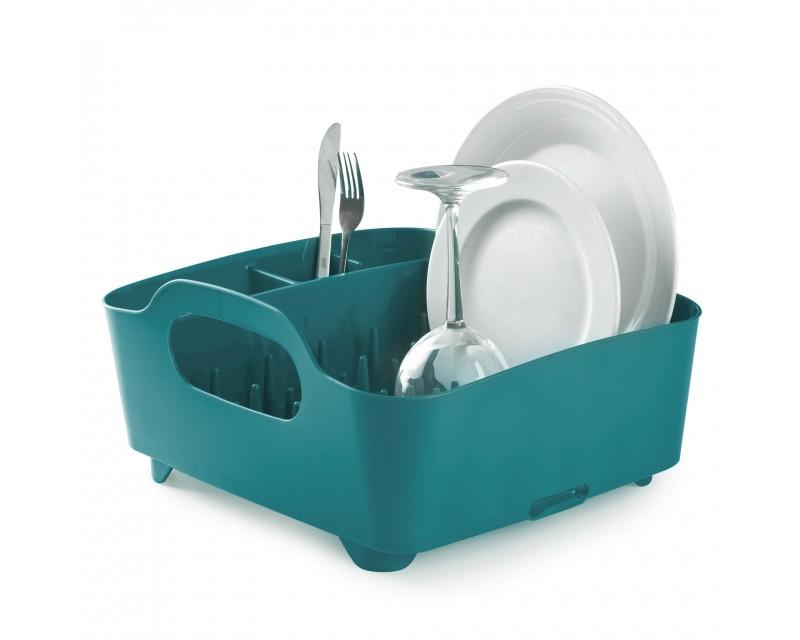 Сушка для посуды Tub бирюзовая