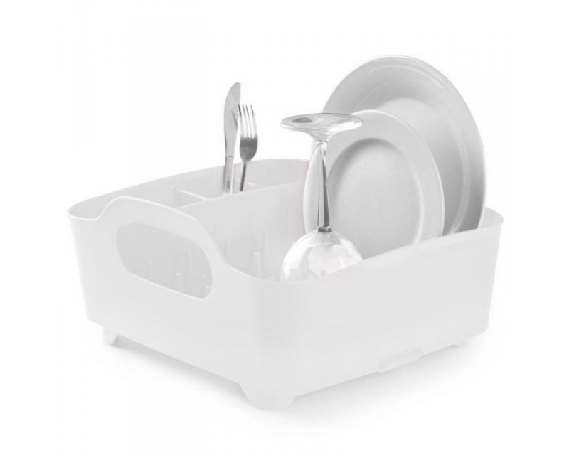 Сушка для посуды Tub белая