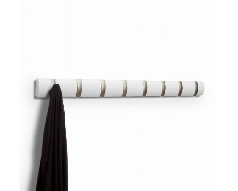 Вешалка для вещей Flip 8 белая