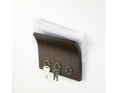 Магнитный держатель для ключей Umbra Magnetter коричневая