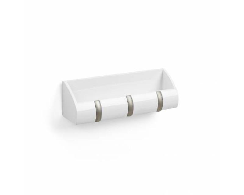 Полка-вешалка многофункциональная Cubby mini белая