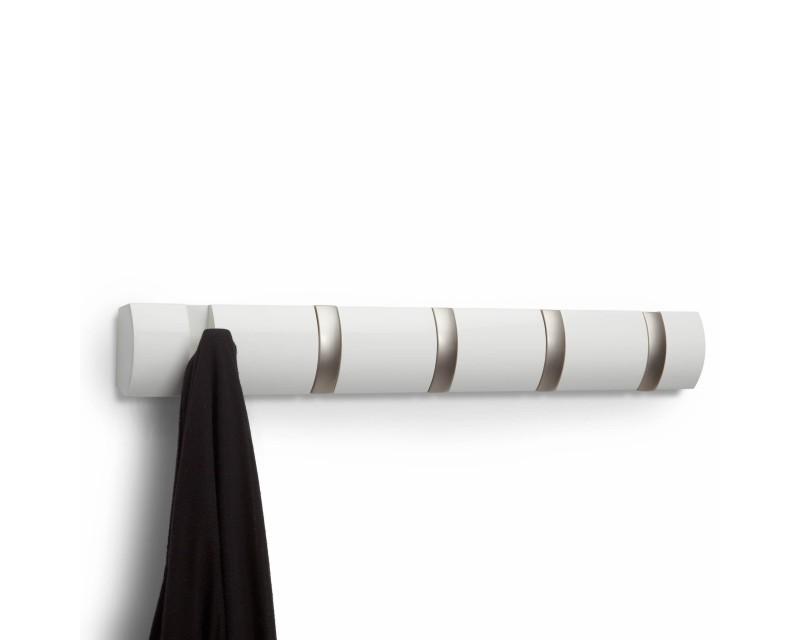 Вешалка для вещей Flip 5  белая