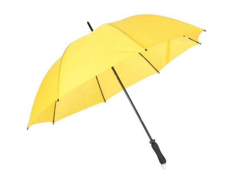 """Зонт-трость механический """"Mobile"""" желтый"""